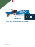 02 - Deber de profesionalismo de la empresa