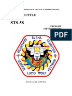 STS-58 Press Kit