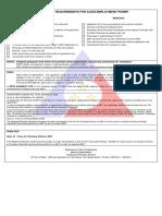 Dole Alien employment permit checklist