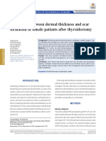 Correlation between dermal thickness and scar.pdf