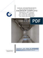 Manual de Mantenimiento Ascensor Completo