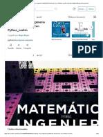 Matemáticas Para Ingeniería Métodos Numéricos Con Python_nodrm _ Spline (Matemáticas) _ Ecuaciones.pdf