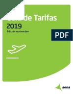 Guía de tarifas de Aena 2019_