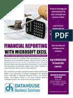 Financial Reporting Brochure