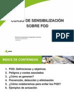 Sensibilización sobre FOD