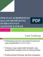 Agropolitan Power Point