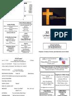 St Andrews Bulletin 011220