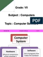 CBSE_VII_Computer_Computer Software.pptx