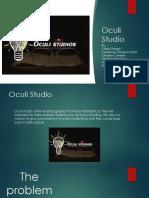 Entrep Oculi Studio Pitch Deck