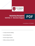 BBA Business Information System Module 5 Decision Support System.pdf