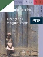 Alcançar os marginalizados_ relatório de monitoramento global de EPT, 2010, relatório conciso; 2010