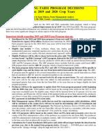 2019 FARM PROG. DEC.  --- General (1-01-20)