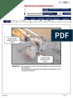 Informe Llegada de Retro Excabadora Jcb