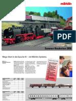 Marklin Neuheiten Sommer 2006