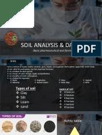 soil analysis and data base