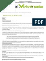 Alteraciones de La Serie Roja _ PortalVeterinaria