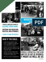 Platypus Labs Inventive Thinking Masterclass - Dallas 2020