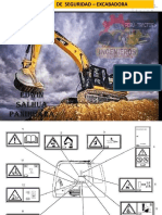 Excavadora 320D - Etiquetas de Advertencia