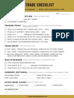 Swing-Trading-Checklist