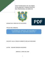 ENSAYO SOBRE LA LEGÍTIMA DEL CÓNYUGE.docx