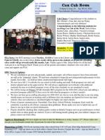Cox News Volume 9 Issue 16