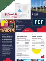 RMIT Sports Centre Facilities Hire Brochure 2019