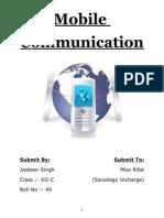 Mobile Phone Documentation