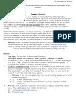 modern world midterm research paper  2019-2020