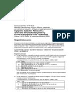 Requisiti LM Ingegneria Spaziale e Aeronautica 28684