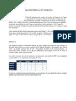TAREA DE INVESTIGACIÓN OPERATIVA MODELO TRANSPORTE