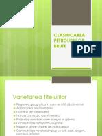 CLASIFICAREA  PETROLURILOR  BRUTE.pptx