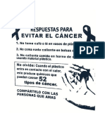 Causas del Cancer