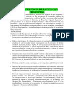 FUNCIONES DE SUB GERENCIA DE OBRAS INFRA, ESTUDIOS Y PROYECTOS.docx