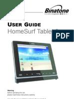 Homesurf Tablet 8 IFU en EU 100924