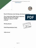 Ware Regionalization Study