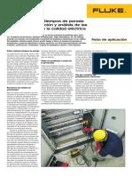 Reducción de los tiempos de parada gracias a detencción y analisis de las perturbaciones de calidad eléctrica