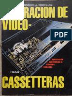 Reparación de videocasseteras VHS - Leonardo Rodriguez