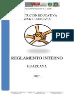 REGLAMENTO INTERNO 2020 HUARCAYA.docx