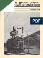 Military Railway Service Journal Vol5 No6 November 1958