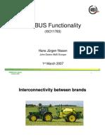 Hans Jürgen Nissen - ISOBUS functional Overview - Workshop ISOBUS Brasil