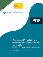 Fase 2 Informe Sobre La Situación en España Actualizado y Propuesta Normativa Inf y Prim