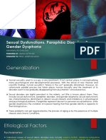 Sexual Dysfunctions, Paraphilic Disorders & Gender Dysphoria