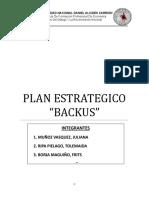 Plan estratejico