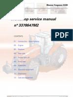 Manual reparatie Massey Ferguson-8400