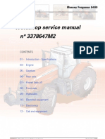 Manual reparatie Massey Ferguson-8400