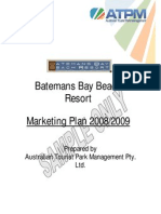 Marketing Plan Example