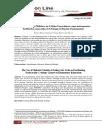 Santana e Santos 2019 (O Uso de Modelos Didáticos de Células Eucarióticas como instrumentos facilitadores nas aulas de citologia do ensino fundamental)