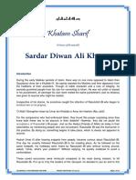 Diwan Ali Khan