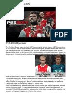 Ps4 Pes 2016 Euro 2016