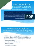 TESTE DE IDENTIFICAÇÃO DE COMPETÊNCIAS LINGUÍSTICAS.pptx